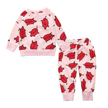 Baby Boy Clothes Baby Girl Clothing Sets Long Sleeve Newborn Baby Clothes Infant Kids Clothes