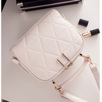 New Fashion Women Solid PU Leather Handbag High Quality Chain Shoulder Lady Messenger Bag Candy Color Crossbody Bags LL1123