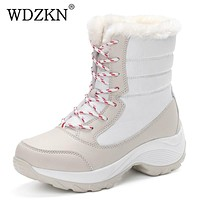 Snow Boots warm waterproof boots for women
