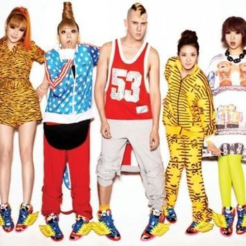 adidas Originals by Jeremy Scott x 2NE1 JS Wings Men Women Sneaker