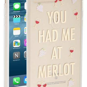 Sonix You Had Me at Merlot iPhone Case (7 & 7 Plus) | Nordstrom