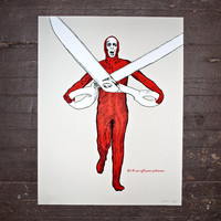 The Big Lebowski Limited Edition Screen Print Uli by MikeyHester