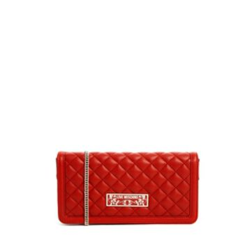 Love Moschino Super Quilted Clutch Bag
