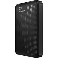 WD - My Passport 1TB External USB 3.0/2.0 Portable Hard Drive - Black