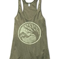 Earth Medallion Yoga Tank - Soul-Flower Online Store
