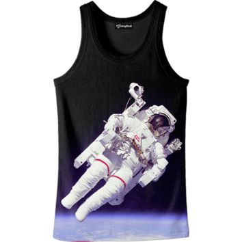 Astronaut in Space Tank