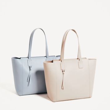 ZIP-UP TOTE