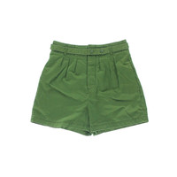 Marc by Marc Jacobs Womens Cotton Pleated Casual Shorts