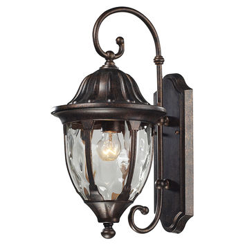 Warwick 1-Light Wall Sconce, Large, Outdoor Wall/Sconces