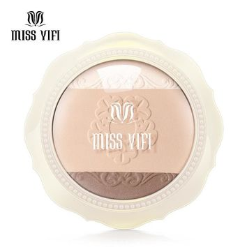 Miss yifi tricolor powder high light stereo bronzing powder makeup [11470453132]