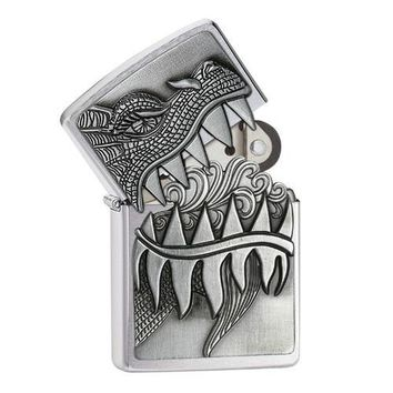 Zippo Classic Flaming Dragon Lighter 28969