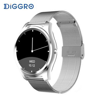 Diggro DI03 Smart Watch Bluetooth 4.0 Heart Rate IP67 Waterproof MTK2502 Call SMS Reminder Pedometer For Android IOS PK K88H
