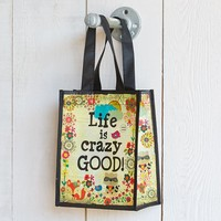 Gift  Bags:  Life  Is  Crazy  Good  Recycled  Gift  Bag  From  Natural  Life