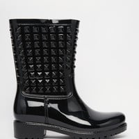 London Rebel Tucker Wellington Boots