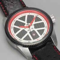 Road Rage Speedway Carbon Fiber Watch