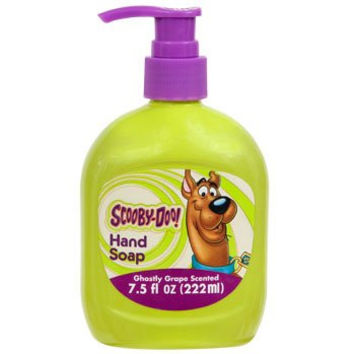 *3 Pack* Scooby-doo Hand Soap for Kids, Ghostly Grape Scented, 7.5 Fl Oz