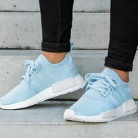 Adidas NMD R1 blue woman Gym shoes