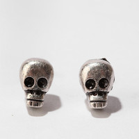 Urban Outfitters - Day of the Dead Skull Post Earring