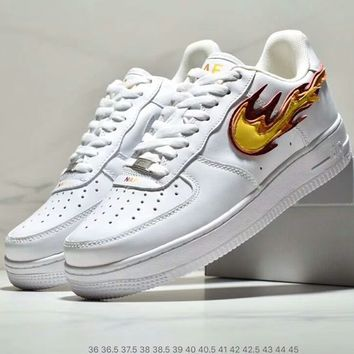 """NIKE AIR FORCE 100XNAF """"Play with fire self-immolation"""" Air cushion sneakers"""