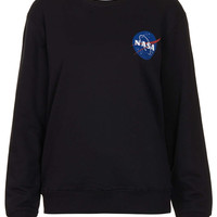 Nasa Sweat By Tee And Cake - Clothing Brands - Clothing - Topshop