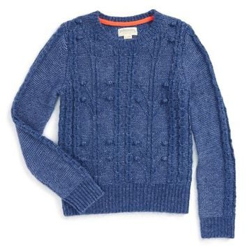 Johnnie B by Boden Cable Knit Sweater (Big Girls) | Nordstrom