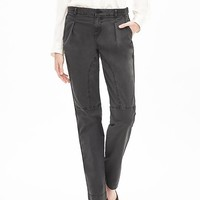 Banana Republic Womens Heritage Pleated Cuffed Chino
