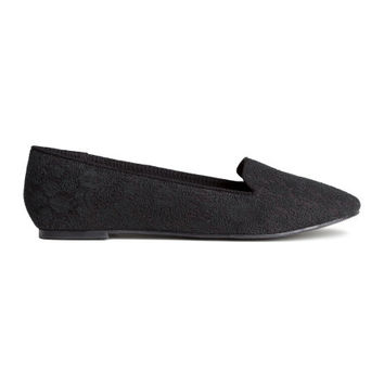 Lace Flats - from H&M