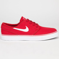 Nike Sb Zoom Stefan Janoski Canvas Mens Shoes Varsity Red/White/Black  In Sizes