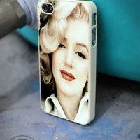 Marilyn Monroe style iPhone 4 5 5c 6 Plus Case, Samsung Galaxy S3 S4 S5 Note 3 4 Case, iPod 4 5 Case, HtC One M7 M8 and Nexus Case