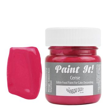 Cerise Pink Edible Paint POT