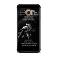 Bring Me The Horizon Happy Song Band Lyric  Samsung Galaxy S6 Edge Case