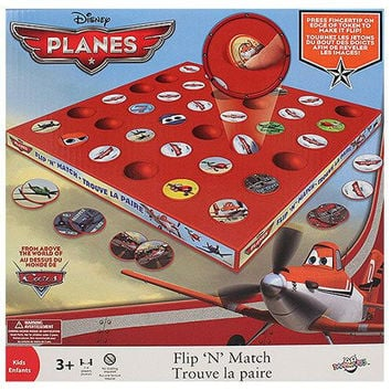 Disney Planes Flip 'N' Match Game
