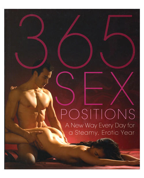 The New 365 Sex Positions Book from Sexy Diva Clothing and Adult Toys.