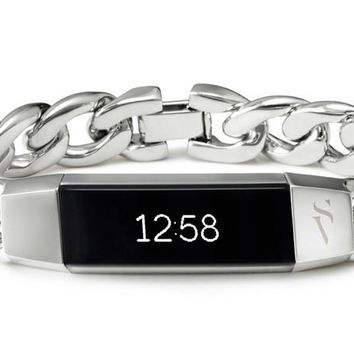 Simply Vera, Vera Wang Metal Bracelet for Fitbit Alta