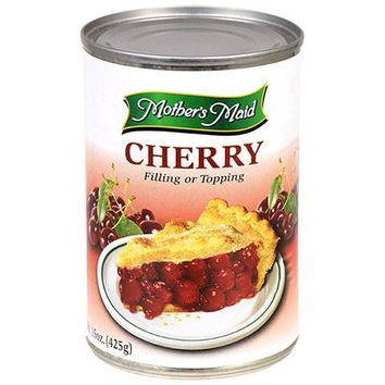 Mother's Maid Cherry Pie Filling 15 oz Can
