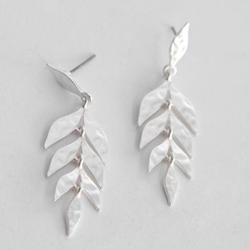 Vermont Leaf Earrings | Ruche