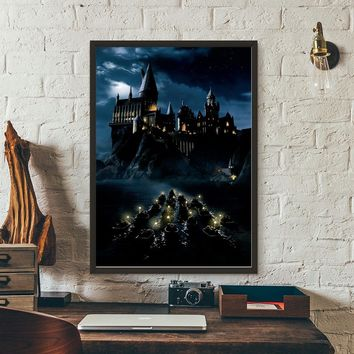 Harry Potter and the Philosopher's Stone Movie Wall Art Wall Decor Silk Prints Art Poster Paintings For Living Room No Frame