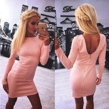 New Fashion Summer Sexy Women Mini Dress Casual Dress for Party and Date = 4721850756
