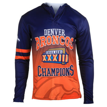 Denver Broncos Super Bowl XXXIII Champions Hoody Tee (Will Ship In November)