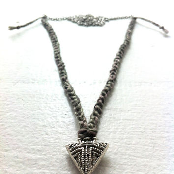 Silver arrowhead necklace - Volcano Store