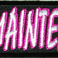 Iron on High Maintenance Patch