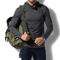 Mens Solid T-shirt Windproof  Cycling Clothes