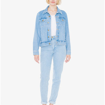 Unisex Denim Jacket | American Apparel