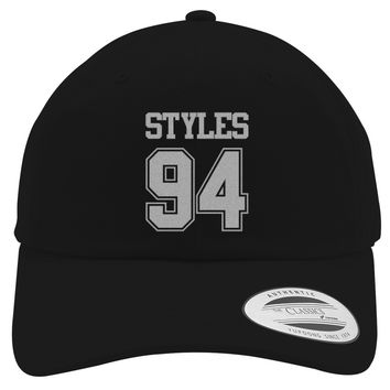 Harry Styles, Styles 94 Embroidered Cotton Twill Hat
