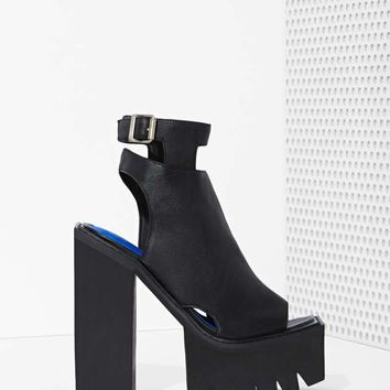 Jeffrey Campbell Milieu Leather Heel