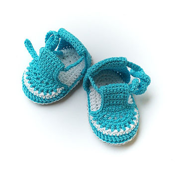 Crochet baby sandals, crochet sandals, baby shoes, crochet flip flops, infant shoes, shower gift, baby photo prop, crochet baby booties