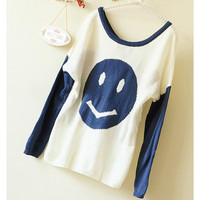 A 083005 Smiley Loose Sweater