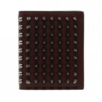 Christian Louboutin Paros Billfold Wallet With Coin Pocket