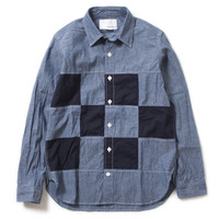 nanamica / Patch Work Wind Shirt