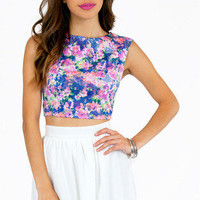Remember Me Florever Crop Top $28
